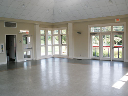 Interior of the Compton Village Community Center